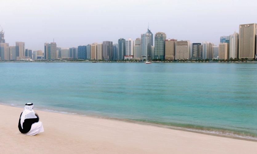 Ville d'Abu Dhabi.