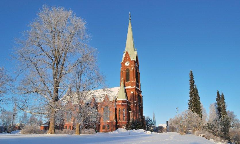 Cathédrale de Mikkeli.
