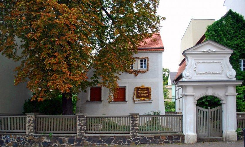 La maison de Schiller.