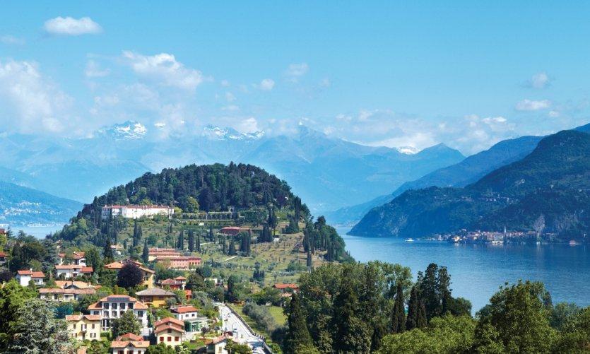 La ville de Bellagio, sur les rives du Lac de Côme.