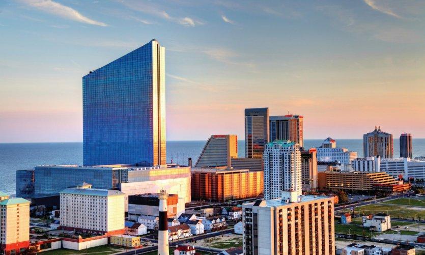 Skyline d'Atlantic City.