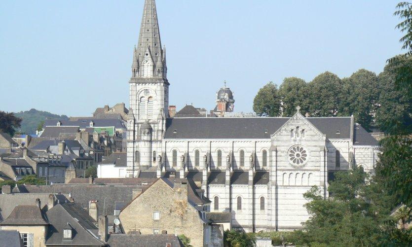 Quartier Notre-Dame d'Oloron.