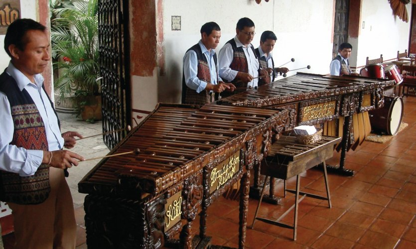 Players of Marimba.