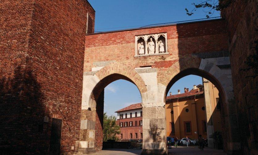 Les portes de la vieille ville.
