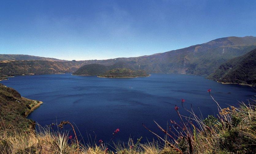 Lac de Cuicocha.