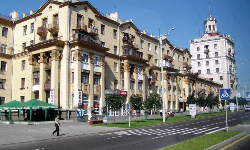 Centre-ville de Zaporijia.