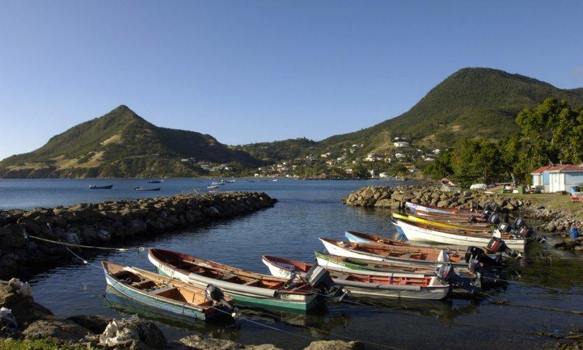 France, Martinique, les anses d'Arlet, Petite Anse