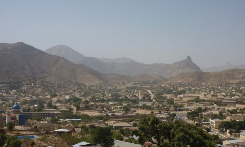 <p>Keren from the top, from the Egyptian fort.</p>