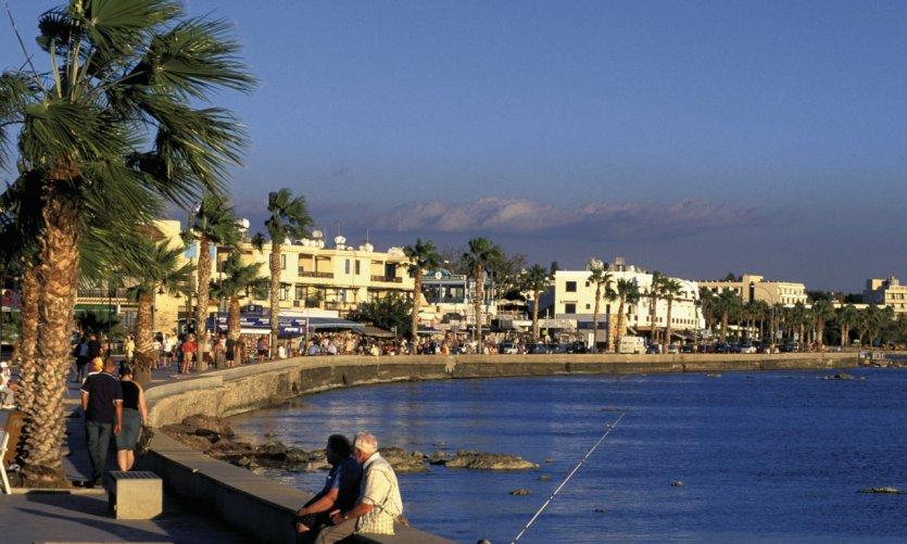 <p>Front de mer à Paphos.</p>