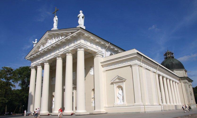 <p>Catedral de Vilnius.</p>