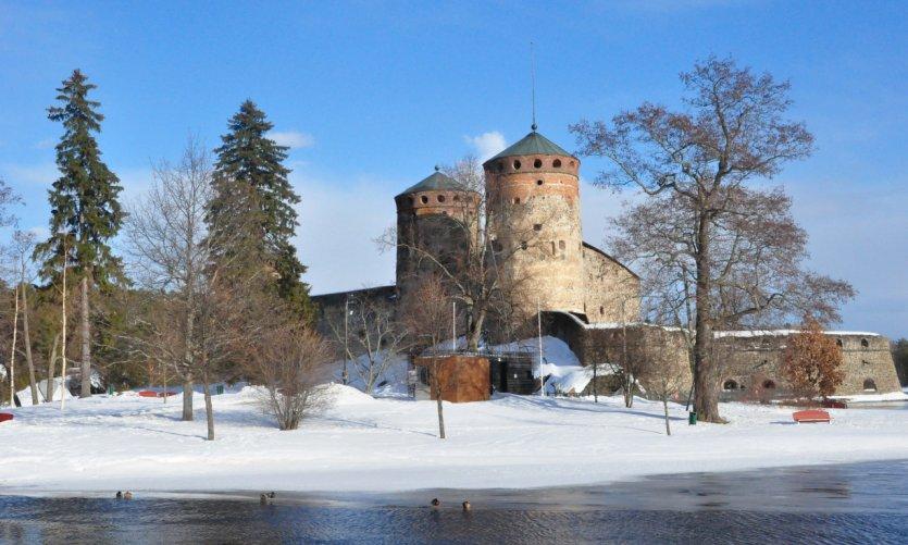 Forteresse Olavinlinna à Savonlinna