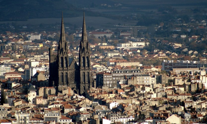 Vue générale de Clermont-Ferrand