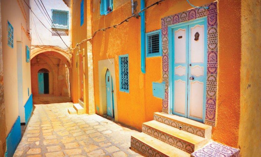 Dans les rues de Sousse.