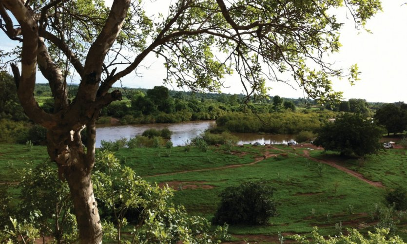 <p>Le fleuve Gambie.</p>