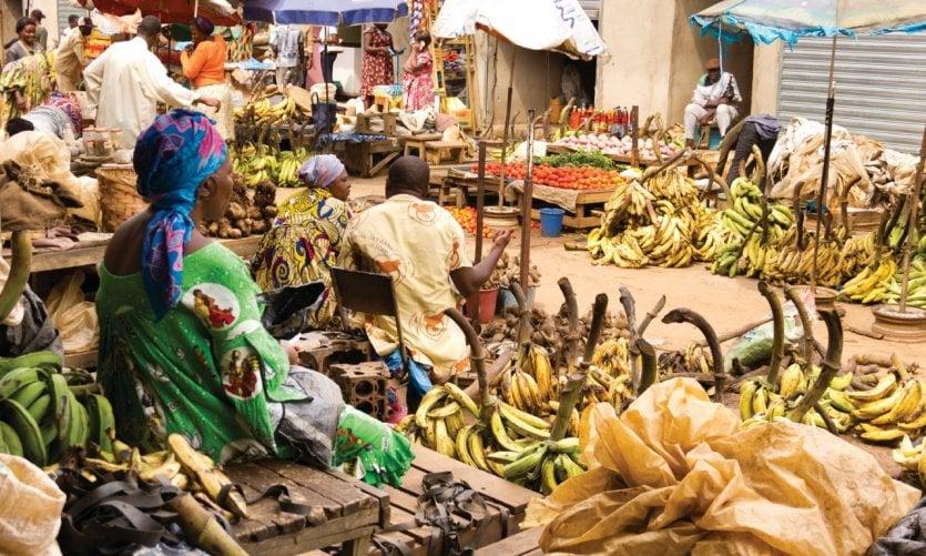 Marché de Yaoundé.