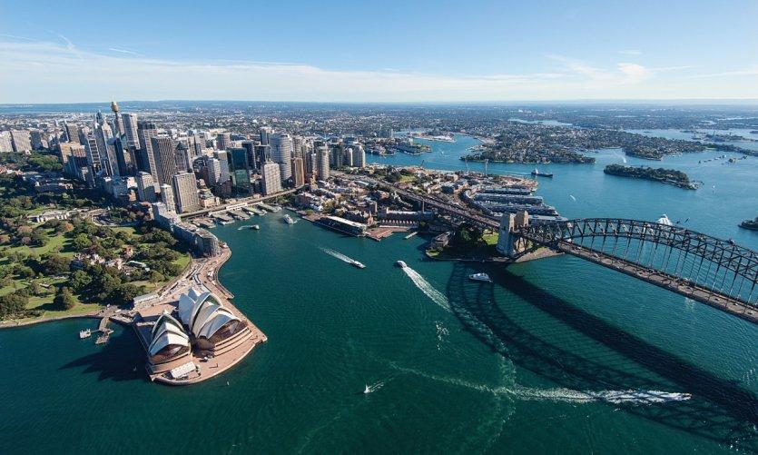 Survol de Sydney.