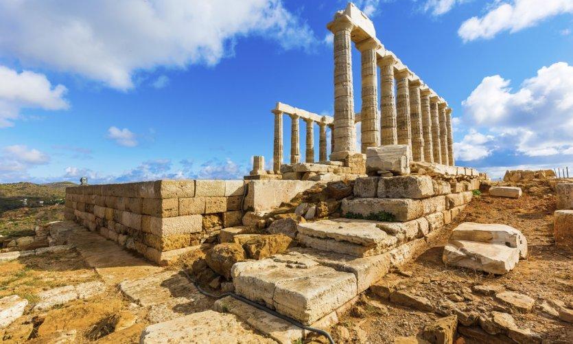 Temple de Poseidon.