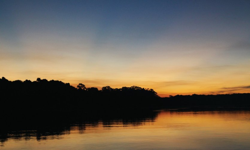 La jungla cerca de Rurrenabaque y sus preciosas puestas de sol.