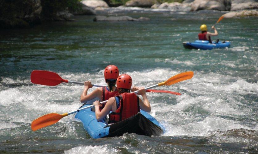 Descente des gorges de l'Ardèche en kayak