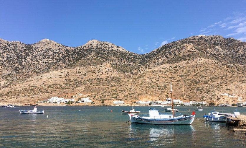 Sifnos, baie de Kamares.