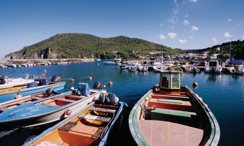 Port de Deshaies.