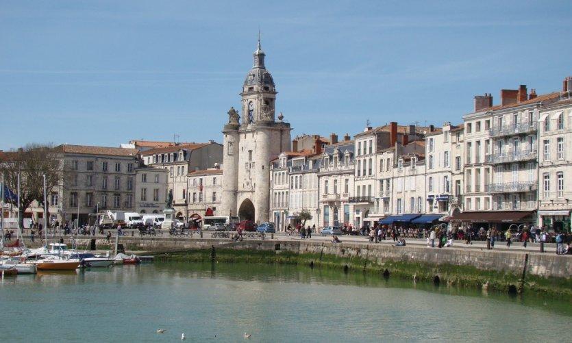 La Grosse Horloge sur le quai Duperré