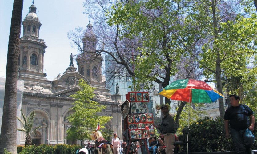 Eglise à Santiago