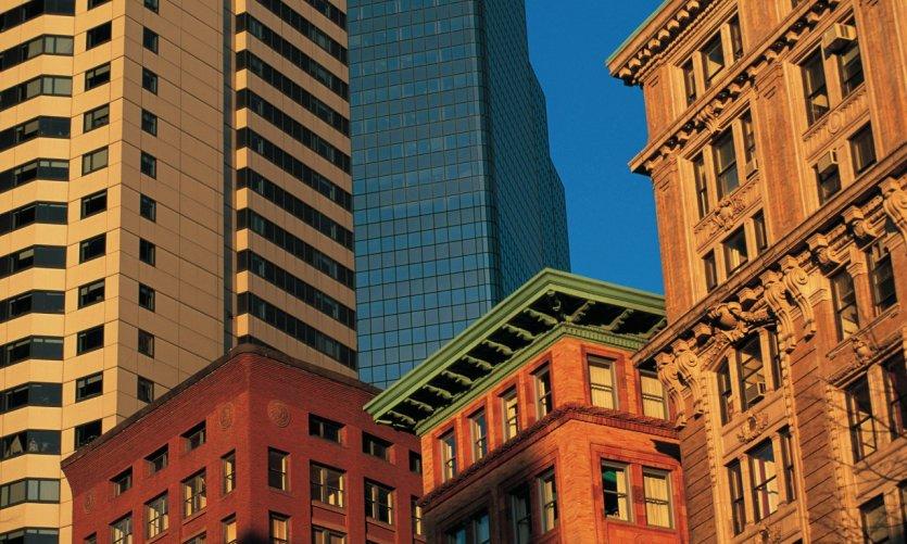 Immeubles de Boston.