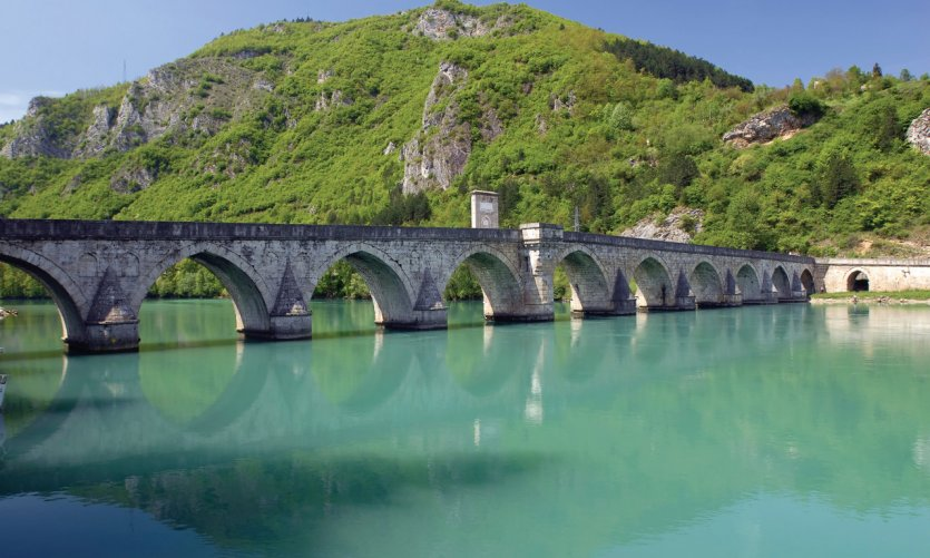 Pont Mehmed Pacha Sokolović, à Višegrad.