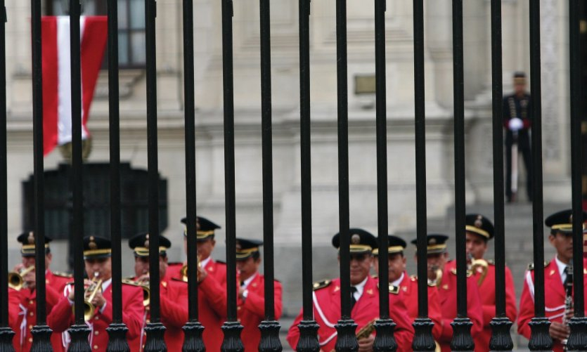 Presidential guard.