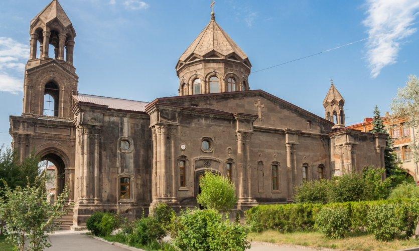 <p>Church of Gyumri.</p>
