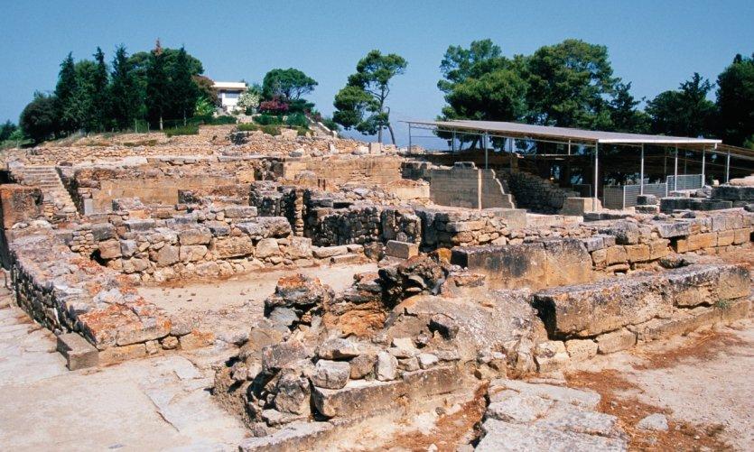Site antique de Phaestos.