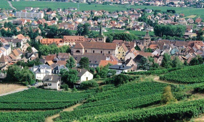 La ville de Turckheim.