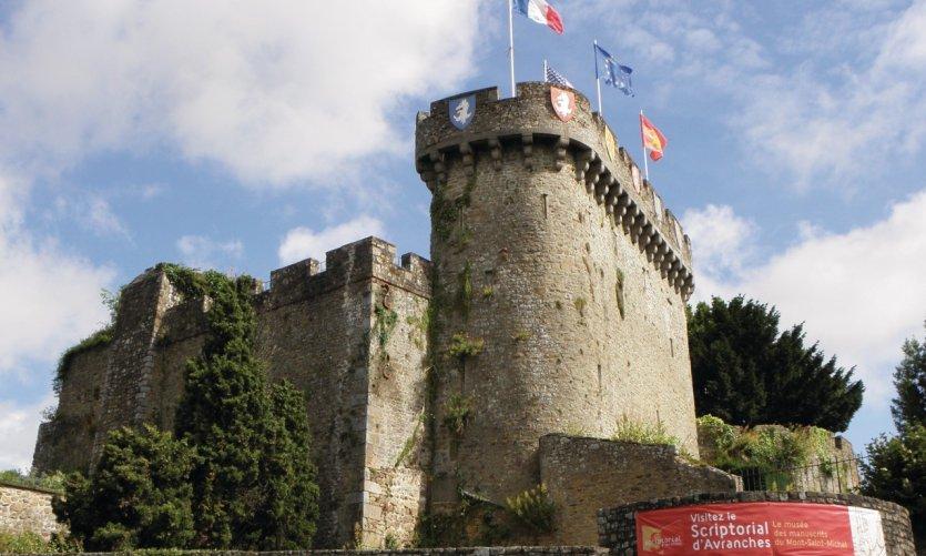 Le château d'Avranches