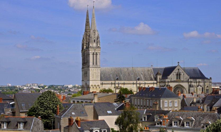 Cathédrale Saint Maurice à Angers.