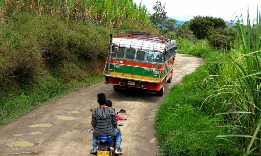 Sur les routes du Huila