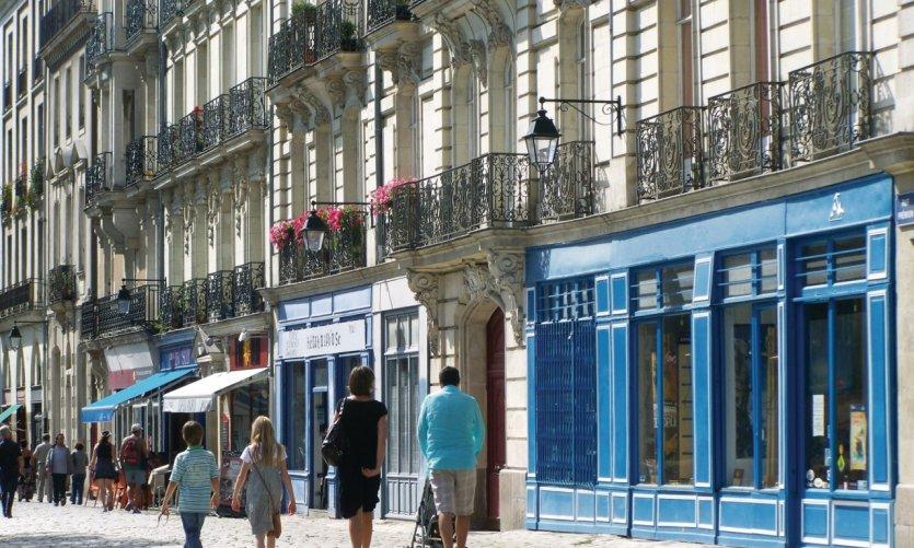 Promenade en famille à Nantes