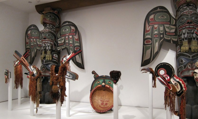 Art améridien au Seattle Art Museum.