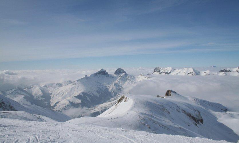Le Dévoluy, dans le massif des Hautes-Alpes