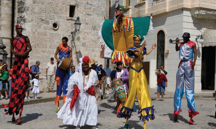 Troupe folklorique Los Zoncos.