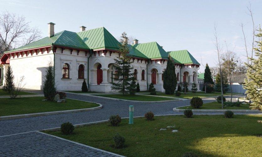 Les cellules du monastère Curchi.