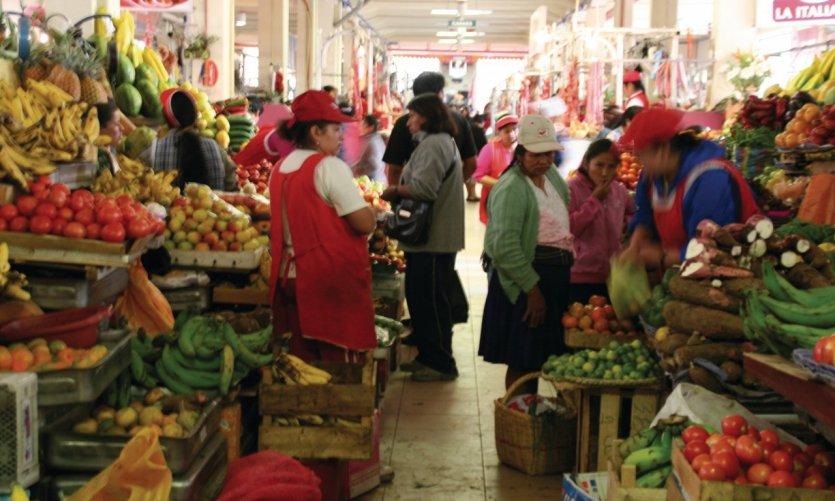 A week of market in market