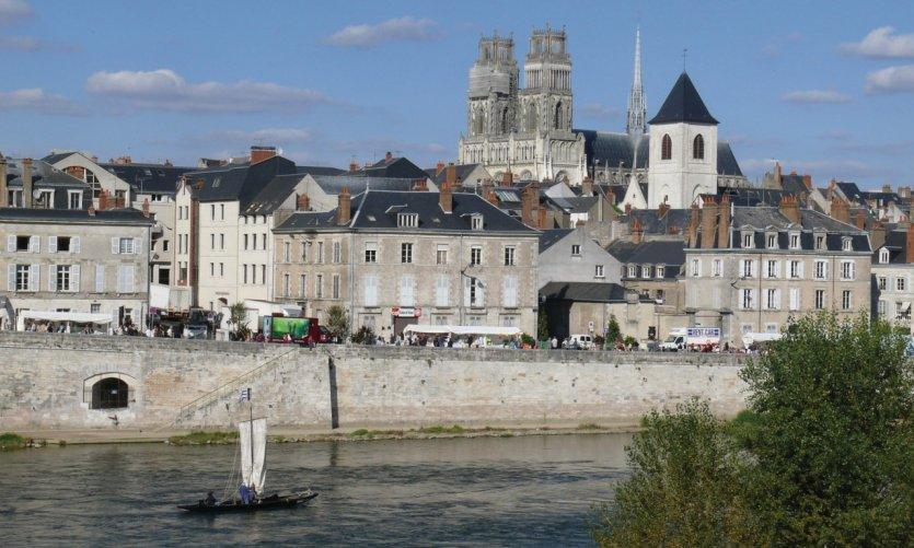 Orléans, au bord de la Loire