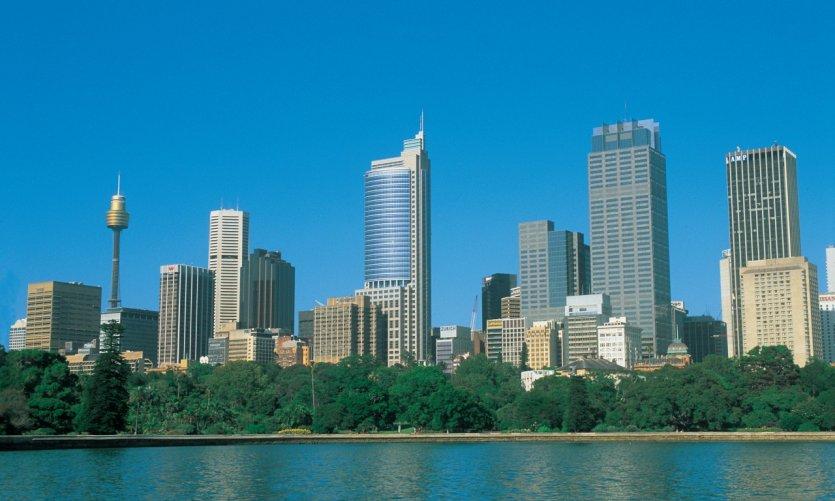 Skyline de Sydney.