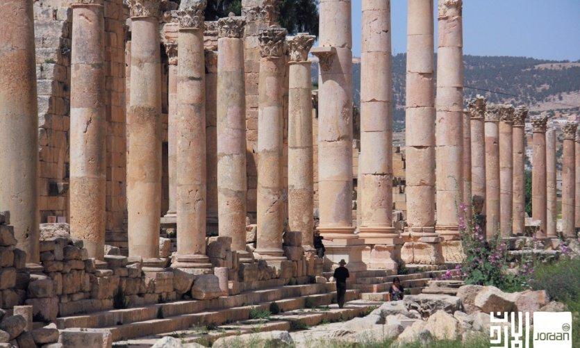 Sitio de Jerash.