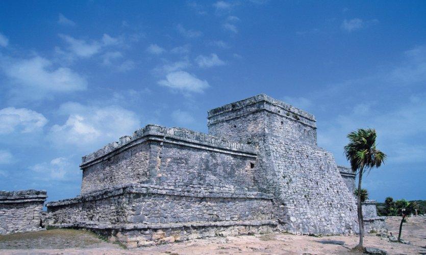 El Castillo (le château), site archéologique de Tulum.
