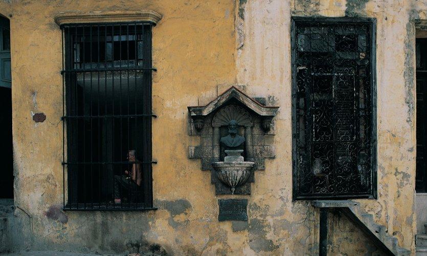 Vieille façade de La Havane.