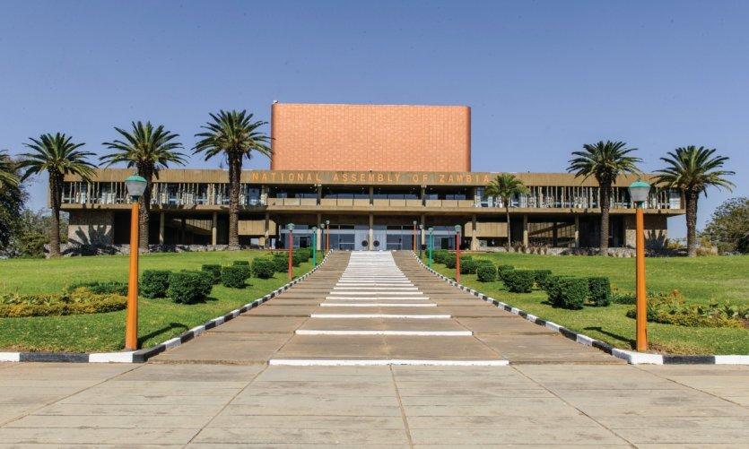 L'Assemblée Nationale de Zambie.