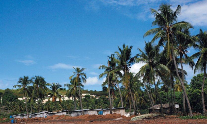 <p>Village of Bandrélé.</p>