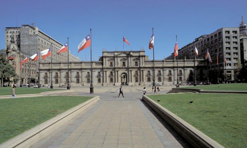 Palais pésidentiel La Moneda